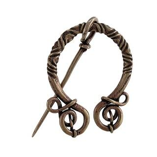 Bronze Finish Viking Clasp Norse Cloak Pin|https://ak1.ostkcdn.com/images/products/is/images/direct/e9c0340b1b8ee06342b0796c1f1da3722ea6b2fd/Bronze-Finish-Viking-Clasp-Norse-Cloak-Pin.jpg?impolicy=medium