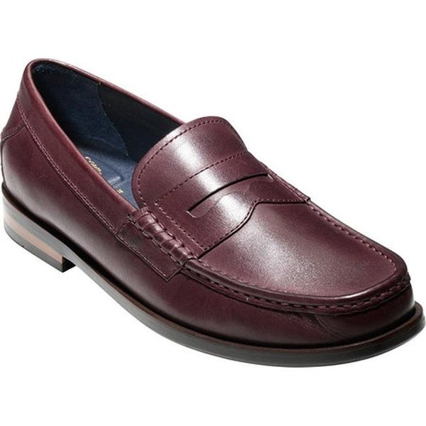4094a93e5d3 Shop Cole Haan Men s Pinch Friday Contemporary Loafer Cordovan Hand Stain  Leather - Free Shipping Today - Overstock - 14667326