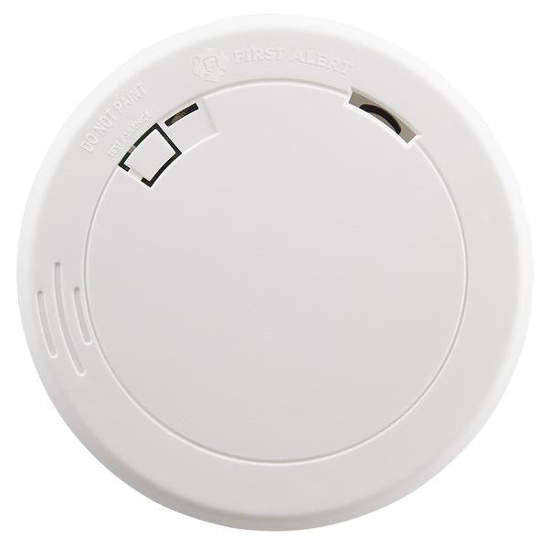 Shop First Alert Slim Photoelectric Smoke Alarm With 10 Year