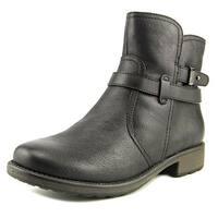 Bare Traps Womens Saint Round Toe Ankle Combat Boots