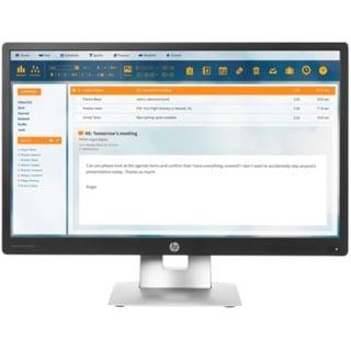 HP EliteMonitor E240 M1N99A8 24-inch IPS LED Monitor - 1080P - (Refurbished)