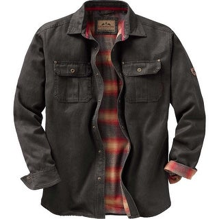 Legendary Whitetails Men's Journeyman Rugged Shirt Jacket (Option: army - Small)