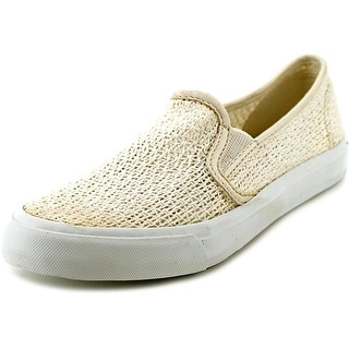 Sperry Top Sider Seaside Women Round Toe Synthetic Ivory Sneakers