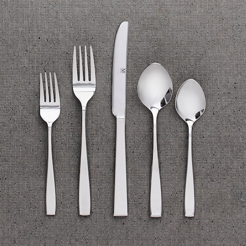 "Flatware Stainless Steel 40PC Set Nice - 9"" x 0'5"""