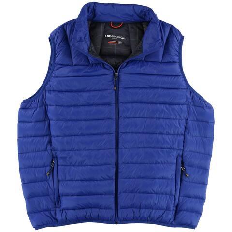 Hawke & Co. Mens Big & Tall Packable Puffer Vest - 2XLT