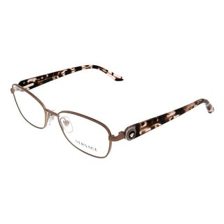 Versace VE1210 1328 Silver Rectangular Opticals