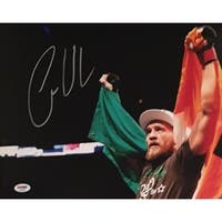 Conor McGregor Autographed UFC Signed MMA 11x14 Photo PSA DNA COA 2