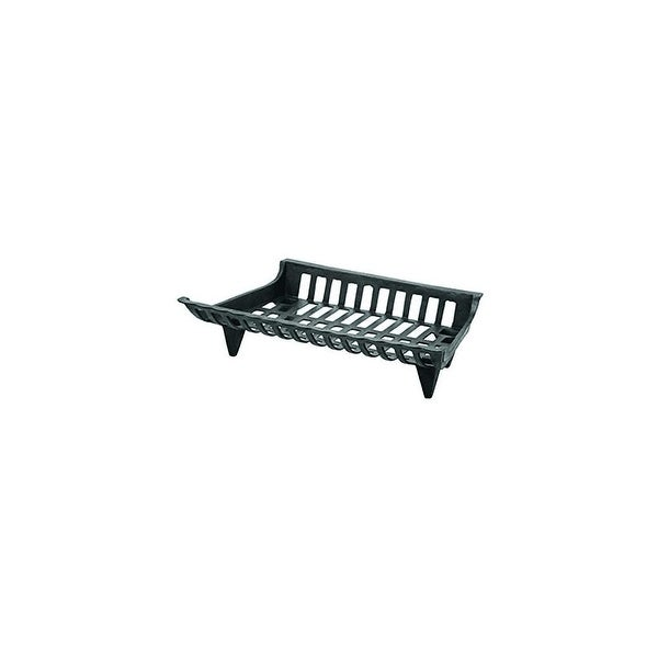 "Pleasant Hearth CG30 30"" Cast Iron Grate - Black"