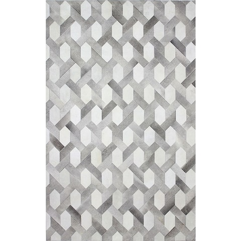Ethan Contemporary Hand Stitched Area Rug