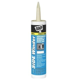 Dap 00813 Side Winder Advanced Siding & Window Sealant, Almond, 10.1 Oz