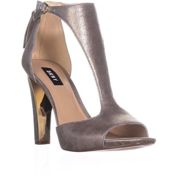 8058636d395 Shop DKNY Colby T-Strap Dress Sandals
