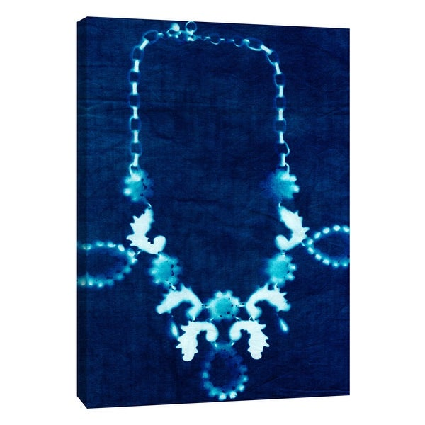 "PTM Images 9-109059 PTM Canvas Collection 10"" x 8"" - ""Cyanotype E"" Giclee Jewelry Art Print on Canvas"