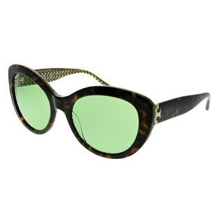 Link to Tory Burch  TY 7121 1734/2 Womens Dark Tortoise Frame Green Lens Sunglasses Similar Items in Women's Sunglasses