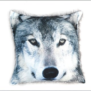 Call Of The Wild Wolf Pillow Cover - Fits Standard Pillows