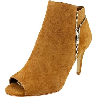 Marc Fisher Serenity Peep-Toe Suede Ankle Boot