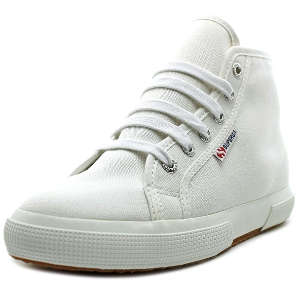 Superga Cotu Classic Women Round Toe Canvas White Sneakers