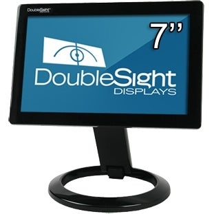 """DoubleSight Displays DS-70U DoubleSight Displays DS-70U Widescreen LCD Monitor TAA - 800 x 480 - 16.7 Million Colors - 375 Nit"