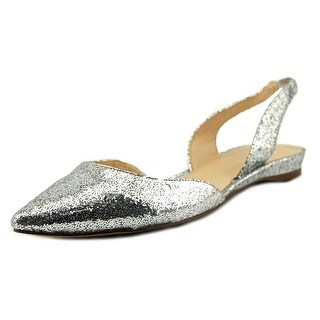 Nine West Werein Pointed Toe Synthetic Slingback Heel