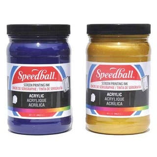 Speedball - Permanent Acrylic Screen Printing Ink - 32 oz. Jar - White|https://ak1.ostkcdn.com/images/products/is/images/direct/e9cf2b1dc432a320eebeb446689a39a590ae1d28/Speedball---Permanent-Acrylic-Screen-Printing-Ink---32-oz.-Jar---White.jpg?impolicy=medium