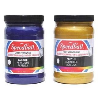 Speedball - Permanent Acrylic Screen Printing Ink - 32 oz. Jar - White