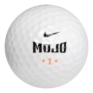 50 Nike MOJO - Mint (AAAAA) Grade - Recycled (Used) Golf Balls