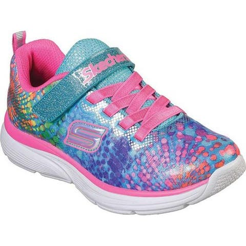 Skechers Girls' Wavy Lites Sneaker Multi