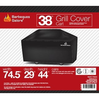 """Barbeques Galore 38"""" Grill Cover for Freestanding Gas Grill"""