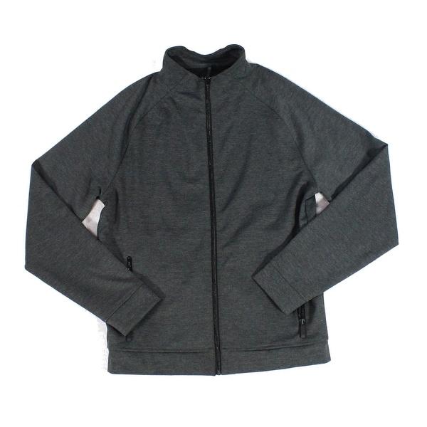 3025efb1042449 Shop Calibrate Dark Mens Medium Full Zip Longsleeve Sweater - On Sale - Free  Shipping On Orders Over $45 - Overstock - 27024276