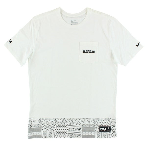 8fe3b258a71e Shop Nike Mens LeBron James BHM T Shirt White - White/Black - XL - On Sale  - Free Shipping On Orders Over $45 - Overstock - 22613500