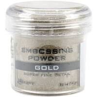 Super Fine Gold - Embossing Powder 1Oz Jar