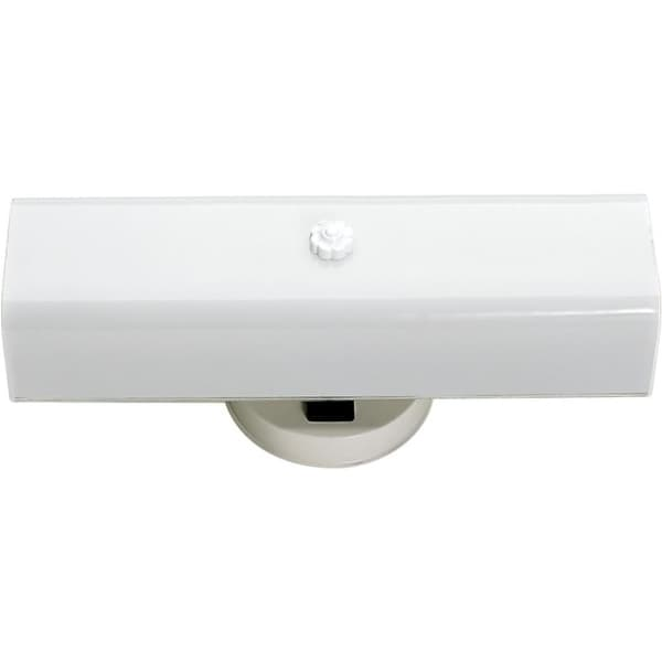 """Nuvo Lighting 77/990 2-Light 4-3/4"""" Tall Outdoor Wall Sconce with Frosted Glass Shade - ADA Compliant - White - n/a"""