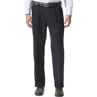 Link to Dockers Mens Khaki Pants Pleated Relaxed Fit Similar Items in Big & Tall