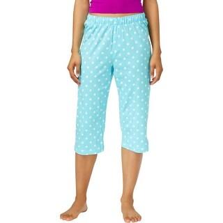 Hue Womens Pajama Shorts Polka Dot Elastic - S