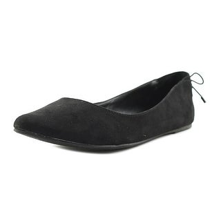 Mix No 6 Vigowia Women Pointed Toe Suede Black Flats