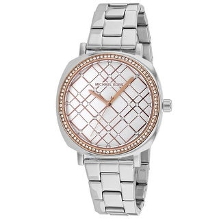 Link to Michael Kors Women's MK3988 Nia Silver Tone Stainless Steel Watch - One Size Similar Items in Women's Watches