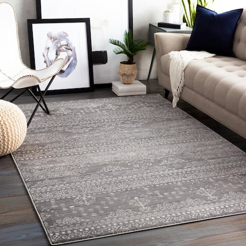 The Curated Nomad LaRue Geometric Tribal Area Rug