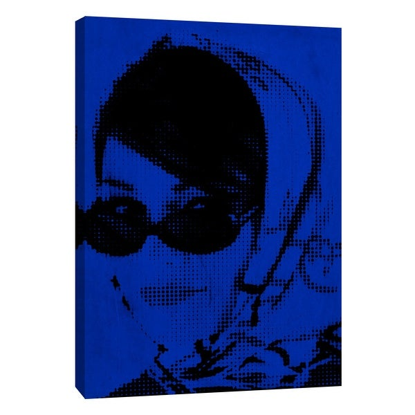 """PTM Images 9-105336 PTM Canvas Collection 10"""" x 8"""" - """"Girl A3"""" Giclee Audrey Hepburn Art Print on Canvas"""