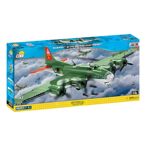 COBI Small Army B-17 Flying Fortress 920 Piece Construction Blocks Building Kit
