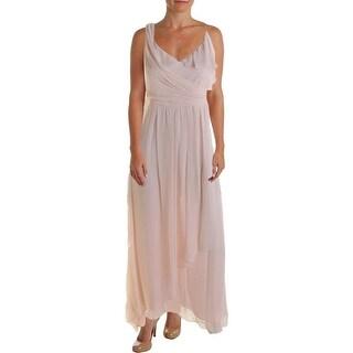 Jill Stuart Womens Silk Chiffon Evening Dress
