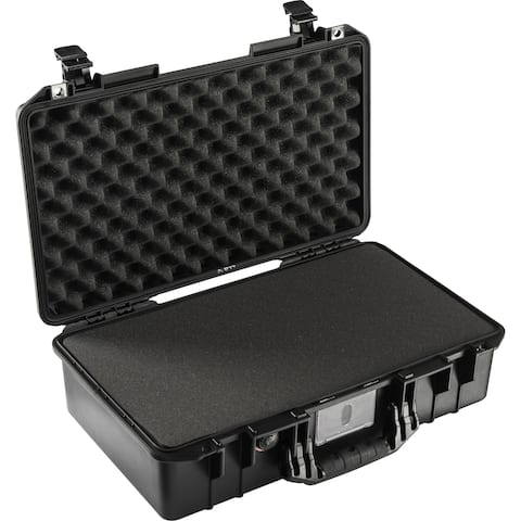 Pelican 1525 Air Carry-On Case with Pick-N-Pluck Foam (Black)