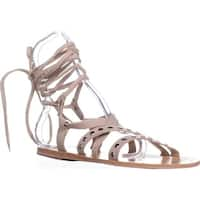 Charles by Charles David Steeler Gladiator Sandals, Nude