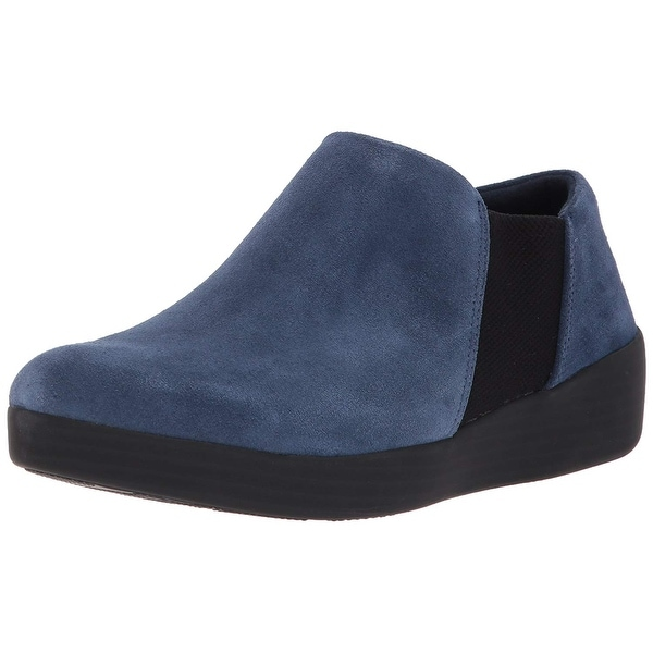 ed2d7cdd8f055e Shop FitFlop Women s Elastic Panel Shoe Bootie Ankle Boot - Free ...