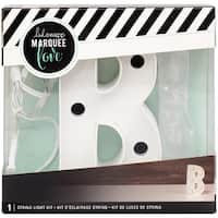"Heidi Swapp Marquee Love Letters, Symbols & Shapes 4""-B"