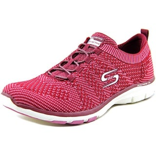 Skechers Galaxies Women Round Toe Synthetic Burgundy Walking Shoe