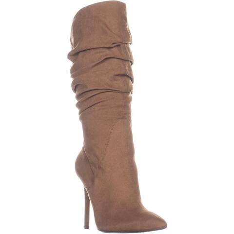 Jessica Simpson Lyndy 2 Knee High Boots, Hazelnut