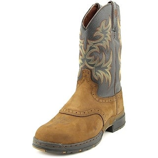 Justin Boots Bay Apache Women Pointed Toe Leather Brown Western Boot