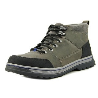 Clarks Ripway Top Gtx Men  Round Toe Leather Gray Hiking Boot