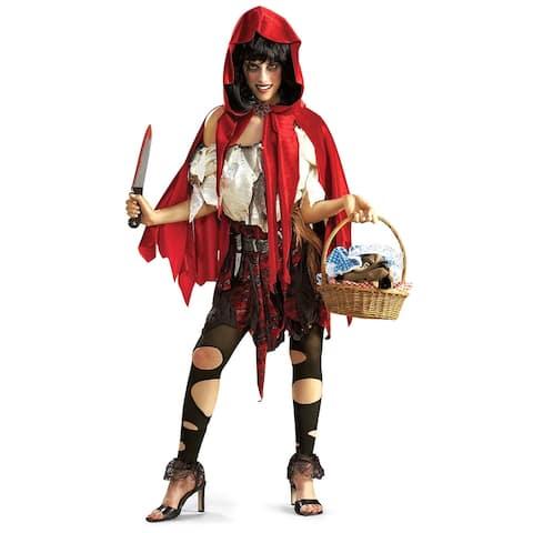 Rubie's Costume Deluxe Little Dead Riding Hood Costume,