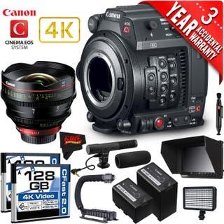 Canon EOS C200 Cinema Camera Intl Version with Canon 135mm Cine Lens