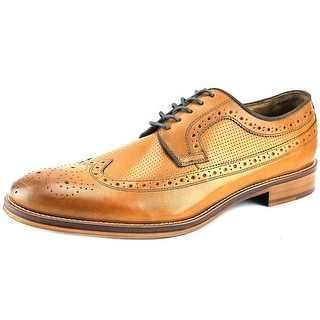 Johnston & Murphy Conard Wingtip Men  Round Toe Leather Tan Oxford